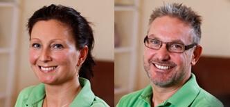 Tandplejer Dorthe Nielsen & tandlæge Morten Duedahl-Skov